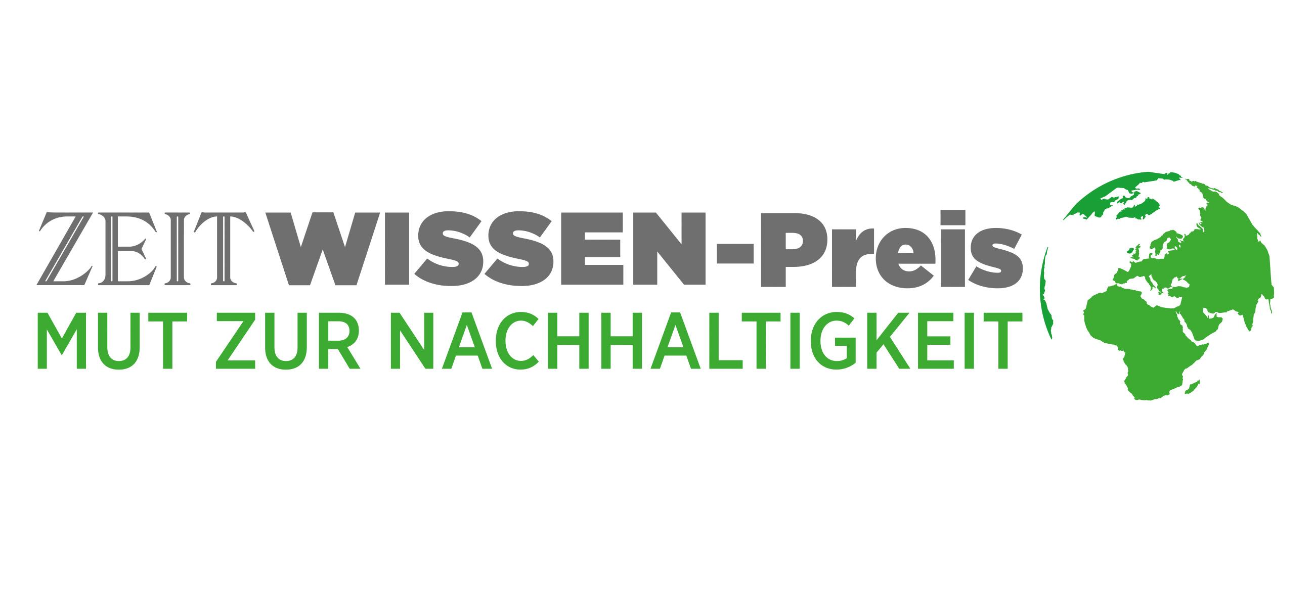 ZEIT WISSEN-Preis Mut zur Nachhaltigkeit
